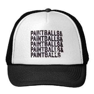 Paintballs Trucker Hat