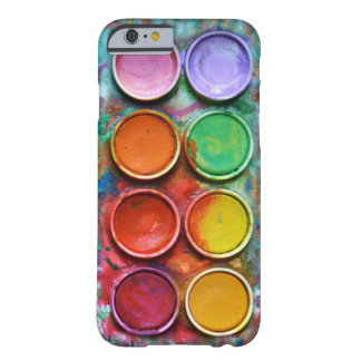 Paintbox Color Pallete Barely There iPhone 6 Case
