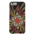 Paintbox Coloured Leaves Abstract Autumn Barely There iPhone 6 Case