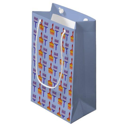 paintbrush gift bag
