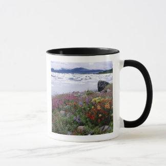 Paintbrush, Lupine, Fireweed. Icebergs Russell Mug