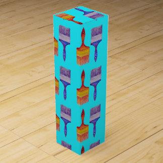 paintbrush wine box
