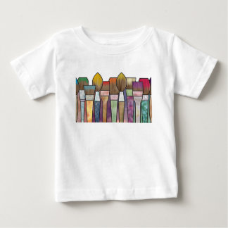 Paintbrushes Baby T-Shirt