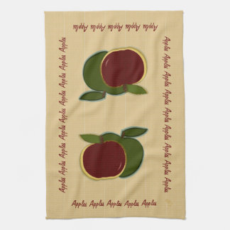 Painted Apples (foe) Kitchen Towel