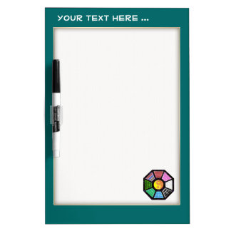 Painted Ba-Gua Dry Erase Whiteboards