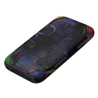 Painted Bat Symbol iPhone 3 Tough Cases