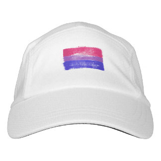 PAINTED BISEXUAL PRIDE FLAG - -  HAT