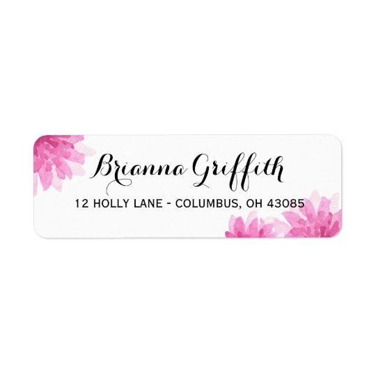 Painted Blooms | Address Labels