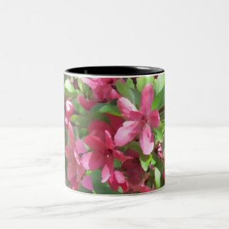 Painted Blossoms customizable floral art mug
