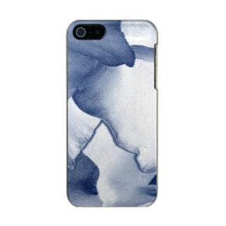 Painted Blue Petals Incipio Feather® Shine iPhone 5 Case