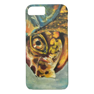 painted box turtle iPhone 7 case