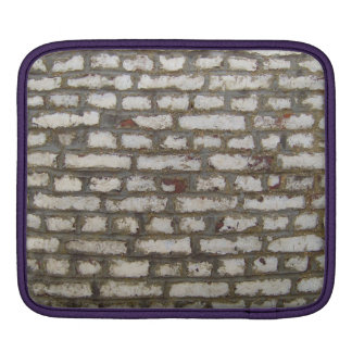 Painted brick wall iPad sleeves