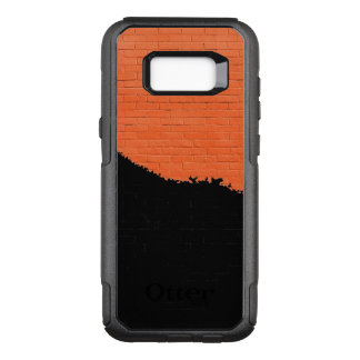 Painted Brick Wall OtterBox Commuter Samsung Galaxy S8+ Case
