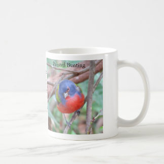 Painted Bunting Coffee Mug by BirdingCollectibles