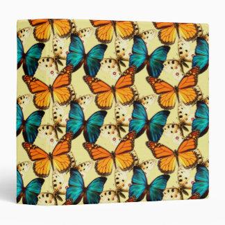 Painted Butterflies Notebook Vinyl Binder