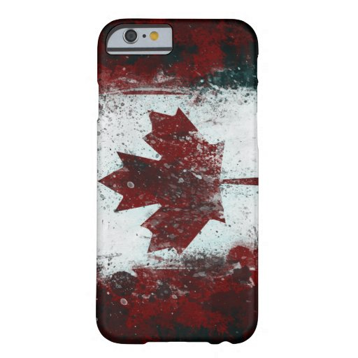 Painted Canadian Flag iPhone 6 Case