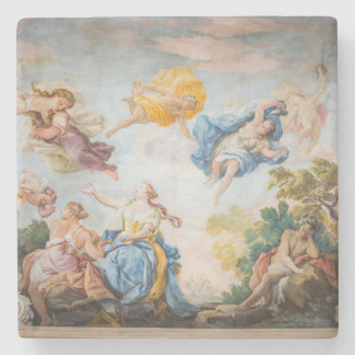 Painted Ceiling ItalyArchitecture Stone Coaster
