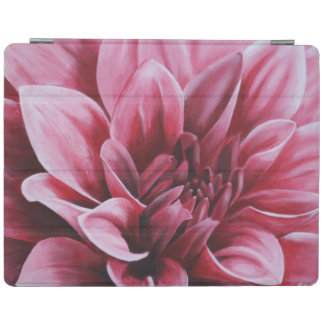 Painted Dahlia Flower iPad Cover