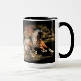 Painted Desert Black 15 oz Mug, Pick Color & Style Mug