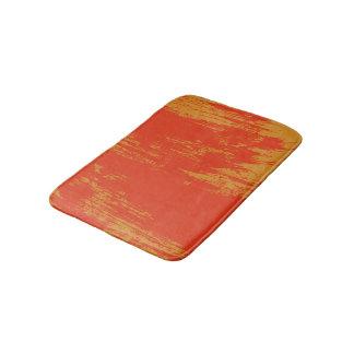 Painted Design - Orange Bath Mat