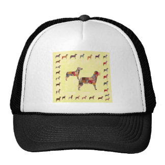 Painted DOGS Gifts Pet Festival Xmas Diwali Trucker Hat