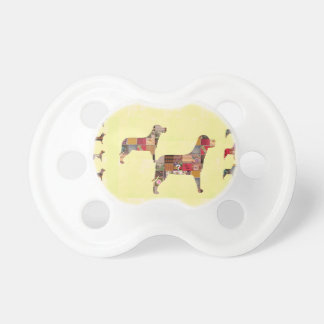 Painted DOGS Gifts Pet KIDS Festival Xmas Diwali Pacifier