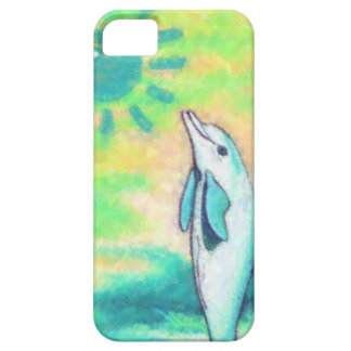 Painted Dolphin iPhone 5 Cover