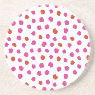 Painted Dots Coasters