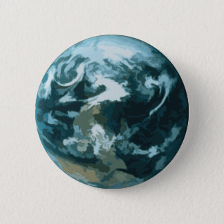 Painted Earth 2 Inch Round Button