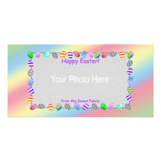 Painted Easter Eggs Photo Card