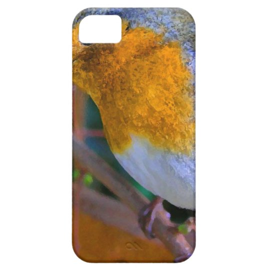 Painted Effect Robin iPhone 5 Cover