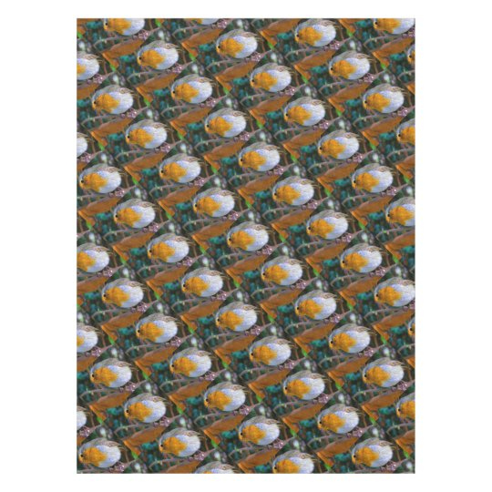 Painted Effect Robin Tablecloth
