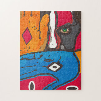 Painted face Puzzle