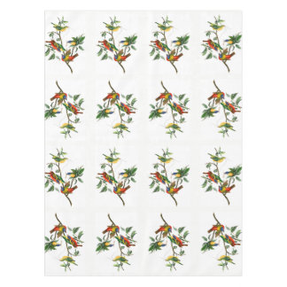 Painted Finch Table Cloth