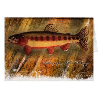 Painted Fish-BD Card