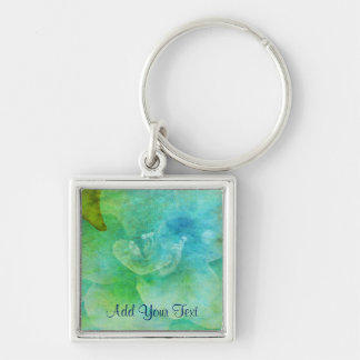 Painted Flower by Shirley Taylor Keychain
