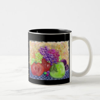 Painted Fruit Mug