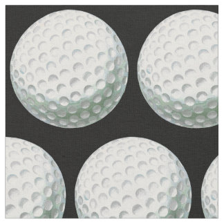 Painted Golf Ball Pattern Fabric