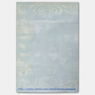Painted Grunge Art Post-it Note Pad