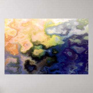 Painted Happiness Thunderegg Print