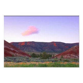 Painted Hills, John Day Fossil Beds N.M., Oregon Photo Print