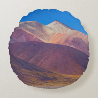 Painted Hills Round Pillow
