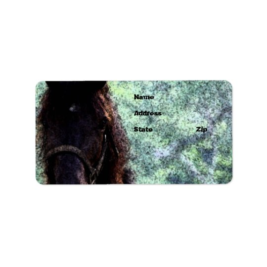 Painted Horse Label