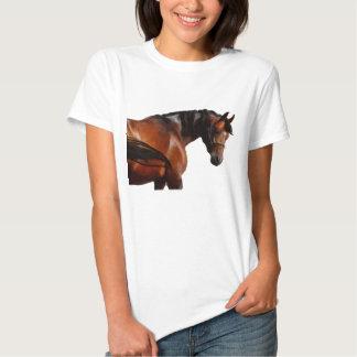 Painted horse portrait shirts