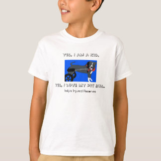 Painted Indy for kids T-Shirt