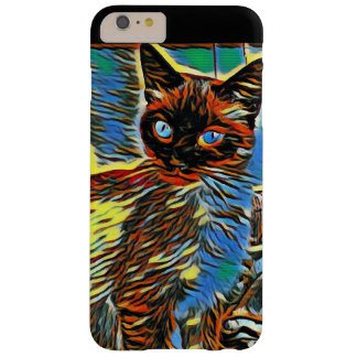 Painted Kitten Barely There iPhone 6 Plus Case