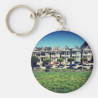 Painted Ladies Keychain
