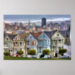 Painted Ladies of San Francisco California Poster