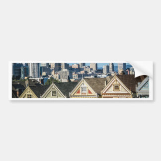 painted ladies san francisco bumper sticker