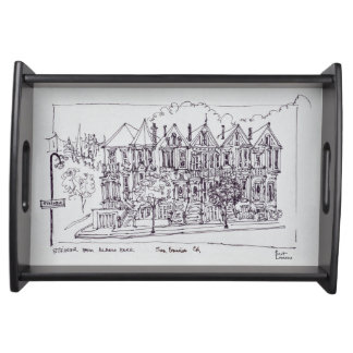 Painted Ladies | San Francisco, California Serving Tray